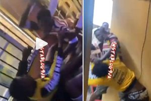 Boy Wrestles His 'Judas Iscariot-of-a-Friend' For Allegedly Sleeping with His Girlfriend Mercilessly [VIDEO]
